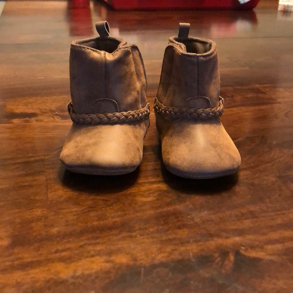 5e2190de4 Carter's Shoes | Carters Brown Infant Boots | Poshmark